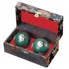 Kiniški kamuoliukai su Ying Yang simboliais